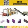 Qt4-18 PLC Control automático de presión hidráulica de ladrillo que hace la máquina en Senegal