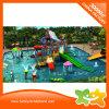 2017 Nuevo Tema del océano de la llegada de diapositivas de la piscina de agua de plástico para la venta