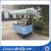 アイスクリームのための3つの車輪押しのカートの/Gelatoの人力車かカートは使用した