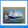 Regalo turistico del magnete del frigorifero della resina della barca di navigazione del ricordo di vista del mare