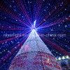 La décoration urbaine de rue de Noël professionnel de DEL allume la lumière de flocon de neige