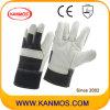 De witte Handschoenen van het Werk van de Veiligheid van de Hand van het Leer van de Zweep van het Meubilair Industriële (310061)