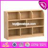A alta qualidade caçoa o gabinete de armazenamento de canto de madeira W08c205 da mobília do quarto