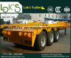 3 Axles Lowbed трейлер Semi
