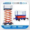 Hidráulico Scissor elevadores/plataforma de trabalho para deficientes motores