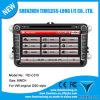 8 '' coche DVD para Volkswagen con Construir-en el chipset RDS BT 3G/WiFi DSP Radio 20 Dics Momery (TID-C370) del GPS A8