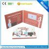 Carte de salutation de brochure de /Digital de carte vidéo de brochure visuelle d'affichage à cristaux liquides de qualité