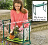 정원 접히는 무릎 꿇는 사람 시트 의자 패드 발판 강철 프레임 공구