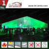Bella tenda della tenda foranea di evento con il sistema delle pareti dell'ABS e di vetro
