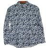 Cotone 100% della camicia della stampa floreale degli uomini Xdl15030