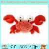 Crabe mou de jouet, peluche de crabe