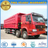 Sinotruk 8*4 덤프 트럭 40 톤 팁 주는 사람 12 바퀴