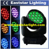 19X12W RGBW Vierling LED Moving Head Wash Stage Light