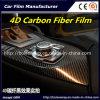 De Prijs van de fabriek! ! ! De Zwarte 4D VinylFilm van uitstekende kwaliteit van de Vezel van de Koolstof