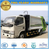 5 camion de traitement des déchets de Cbm du camion d'ordures de compacteur de roues de la HP 6 de T 100 5