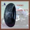 Gute Qualität der Größen-130/90-15tl, schlauchloser Reifen des ISO-Nylonmotorrad-6pr