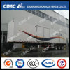 3axle Van Semi Trailer con Waterproof Cover