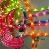 Colorare l'indicatore luminoso di nastro impermeabile della colla LED