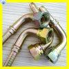 Le raccord hydraulique femelle JIC avec un écrou de raccord de flexible 26791 fixe