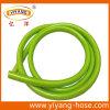 Boyau vert clair flexible de l'eau de boyau de jardin