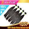 arrivo Lbh 002 di estensione 2016 naturali dei capelli umani di Remy del Virgin del brasiliano del tessuto 100% dei capelli 7A nuovo