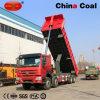 De op zwaar werk berekende Vrachtwagen van de Kipper van de Stortplaats van de Plaats van de Mijnbouw HOWO Bewegende 8*4