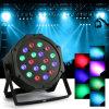 4PCS DJ PAR 18X3w l'éclairage d'étape de la PARITÉ DMX512 de l'éclairage LED 54W RVB