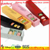 Macarons를 위한 매력적인 다채로운 음식 급료 접히는 수송용 포장 상자
