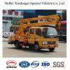14-16m Dongfengの持ち上がるプラットホームのトラックEuro5