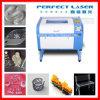 Grabador plástico de acrílico del laser del CO2 de la tarjeta de madera/PVC