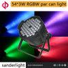het LEIDENE 54*3W RGBW Licht van het PARI voor het Leven toont Partij