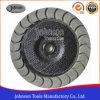 4-7 roue en céramique de cuvette de diamant de pouce pour le béton de meulage