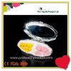 2 Fach-Diamant-Metallkleiner Zinn-Kasten-japanischer Pille-Kasten