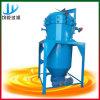 Petróleo inútil que introduce continuo que recicla la máquina del filtro