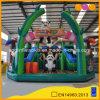 Parc d'attractions gonflable de glissière de videur de ville d'amusement de panda (AQ01739-1)