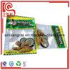 Comida secada del jengibre y de la avena que empaqueta el bolso plano plástico