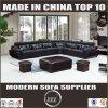 L sofá da sala de visitas da forma com couro de grão superior (LZ-883)
