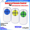 Porta sem fio RF Yet2124 de controle remoto universal da garagem da porta