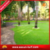Ajardinando o relvado artificial barato com revestimento protetor verde para o jardim