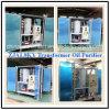 macchina di depurazione di olio di alto vuoto di 1800L/H 75kv per l'olio usato del trasformatore, purificatore di olio di piccola dimensione del trasformatore