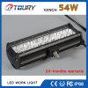 54W LED 바 빛 크리 사람 자동 램프 바 빛