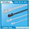 Nylon66 Mountable Head Ties para Bundling Wires