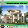 Niedrige Kosten-steuert vorfabrizierter Stahlrahmen-vorfabriziertinstallationssatz Haus-Landhäuser automatisch an