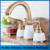 Populares Bronze antigo centro de 4 polegadas botões Set 2 torneira da pia do banheiro Misturador torneira da bacia hidrográfica