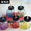 Venta caliente de alta calidad Mason Jar cristalería de la leche