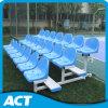 el aluminio 3-Row se divierte el banco/el banco al aire libre con el asiento plástico