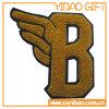 Zoll bezeichnet Chenille mit Buchstaben, Stickerei für Förderung-Geschenke (YB-pH-01) zu ändern