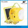 Lanterna recarregável solar da bateria acidificada ao chumbo com função cobrando do telefone