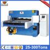 Embalagem hidráulica Plástico Strip Press Cutting Machine (HG-B80T)