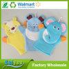 Luvas animais do banho da floresta de toalha da multa dos desenhos animados das crianças
